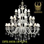 2013 New Big Modern Chandelier for Hotel&House Decoration-DPX-0458/18+12+6