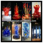 2014Murano Large Glass Sculpture Christmas Tree Decoration in Home Villa Hotel-Sculpture