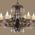 CHINA CHEAP EUROPEAN STYLE LED CHANDELIER LIGHTING MANUFACTURER-H9137-06A/B