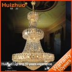 Hotel luxury golden chandleier crystal pendant lighting asfour crystal chandelier factory-SL-7001