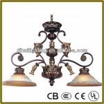 Restaurant chandeliers pendant lighting with down light NP6062B - 2D-Pendant light NP6062B-2D