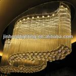 Large luxury contemporary crystal chandeliers for project-MDX0509