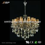 New European decoration hotel chandelier crystal-T-2CH5023-12+6
