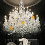 Top quality big crystal chandelier/1975 crystal modern crystal chandelier factory-99220-67-18+12+6L Crystal Chandelier