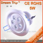 [Dream Trip] 5W Energy saving recessed led downlight kit, down light led spotlight, non dimmable led ceiling light-SL-C0623-5A-C