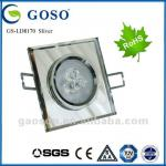 LED high quality crystal ceiling light GS-LD8170 Sliver-GS-LD8170 Sliver