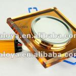 crystal led downlight square high quality 3W 240LM CE-HXCDS3-B/S/G-WW/CW-1.0