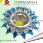 New style Crystal outer ring downlight with high-bright COB 3W downlight-FL-SJ-002
