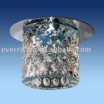 Crystal down light, ceiling light, recessed downlight-CL1405