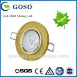LED high quality crystal ceiling light GS-LD8060 Shining Gold-GS-LD8060 Shining Gold
