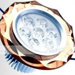 LED crystal Ceiling spotlights 7W for indoorl lights LED lighting-AS-SJ7W