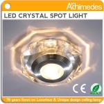 2013 new design recessed led crystal spotlight with CE&Rohs multicolor-AD6373CL