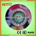 Thin crystal flat cob led downlight downlight with floral designs-YA185-1