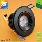 6w led ceiling light-F6-003-D70-B-6W