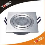 pure aluminium recessed square downlight-TS5001