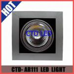 Cob Ar111 Led Adjustable Warm White 18W Downlight Led Light 230V 4000K-CTD-AR111-20W