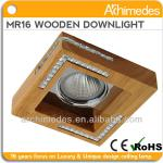 indoor wood recessed down lights led cob 8w/mr16 35w Zhongshan lighting factory(hot selling)-MB-MR 5004