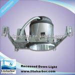 Aluminum 6 inch new construction ic airtight fixture ul halogen incandescent can light housing-A6-IA