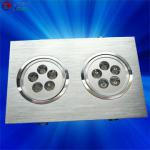 14*1W square recessed double head downlight-LR-CL-10W-D
