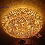 High voltage LED ceiling lamp/Luxury crystal round ceiling lamp-YCQ8095