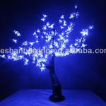 Blue Cherry Blossom Tree Fancy Decorative Floor Lamp-TH026