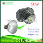 3yrs Warranty,Meanwell Driver IP65 50W Small LED Warehouse Lighting Fixture with cost-exffective and CE&ROHS-RX-HB50W-45/90/120