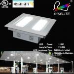 100W Outdoor UL led canopy light canopy led light fixtures bulb for gas station-RL-GAS-100W-CW-CR