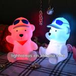 Rechargeable Bear LED night light-LV-0013B