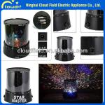 New Amazing LED Star Light Star Master,Star Beauty Projector Night Light-CF2-2007A