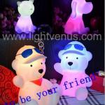 Funny bear table led night light for children-LV-0013B led night light