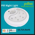 Safety Auto 4*4.5 AA Battery Powered 8LEDS Sensor Baby LED PIR Motion Sensor LED Night Light-PD-LED2026