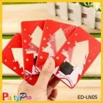 Portable LED Wallet Card Pocket Card Night Light/Christmas tree shaped-ED-LN05