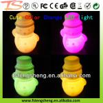 Novelty Soft pvc color changing LED night lights for children W/ CE-TS-B012