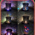 WD5065 Fashion star master colorful starry night cosmos projector bed side lamp-GK 0217797