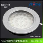 high quality 2W reecessed led under cabinet lighting-D65H11