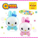 Q-KIDS plastic cartoon rabbit night light indoor lamp-N6057B