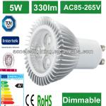 5W GU10 led spot light dimmable led sport light-B1 led spotlight
