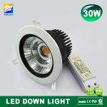 3 years warranty 30W SHARP led downlight cob-F8-002-B60-30W