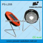low cost Led solar table lamp with 360 degree light & stand & two brightness-PS-L058