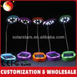 2014 Top Selling And High Quality Solar Table Lamp with 8 LED Lights(Oval-shaped)-PWH -S-R01
