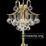 3 lights crystal chandelier table lamp-SSTB12-0006