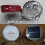 portable rechargeable Solar Reading Lamp with high brightness and USB output port-VS-80095T