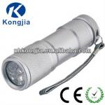 mini aluminium 9 led flashlight-KJ-8001-9L