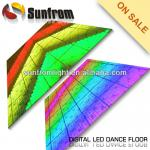 Colorful acrylic digital led dance floor-SF-LD05