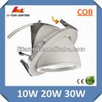 10w 20w 30w new design! angle adjustable dimmable Cree COB LED Gimbal Downlight-LT-TD-260-30w