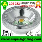 China 15W Dimmable G53 based COB LED AR111-APAR03