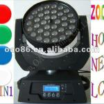 Manufacturer directly supply! OAO lighting LED101-204,ZOOM 4IN1 36pcs*10W LCD display mute work LED moving head led-LED101-204