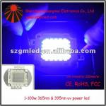 1-100W High Power UV LED - 390-410nm/360nm-380nm/by manufacture-uv LED chip for impressora