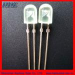8mm top quality ellipitic white led diode-HPSQU-3-RE