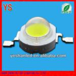 0.1usd/pc 1w white led 90-100lm good for middle east market-YS-1WP2BW13-T